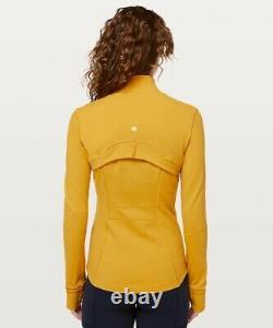 NEW LULULEMON Define Jacket 12 Honey Lemon FREE SHIP