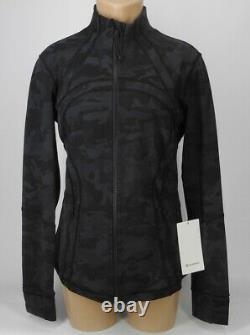 NEW LULULEMON Define Jacket 12 Incognito Camo Multi Grey FREE SHIP