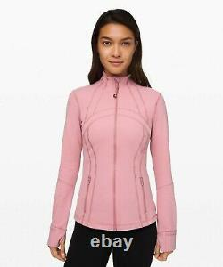 NEW LULULEMON Define Jacket 12 Pink Taupe FREE SHIP