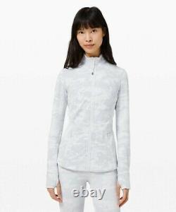 NEW LULULEMON Define Jacket 14 Incognito Camo Jacquard Alpine White FREE SHIP