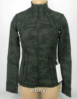 NEW LULULEMON Define Jacket 4 6 8 10 12 14 Incognito Camo Gator Green FREE SHIP