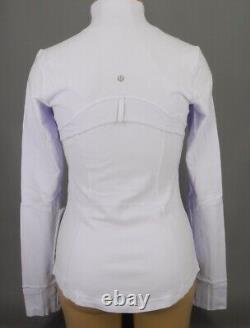NEW LULULEMON Define Jacket 6 8 10 Sheer Lilac Purple FREE SHIP