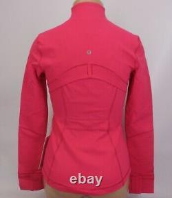 NEW LULULEMON Define Jacket 6 Calypso Pink FREE SHIP