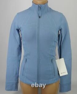 NEW LULULEMON Define Jacket 8 Cascade Blue FREE SHIP