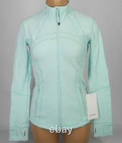 NEW LULULEMON Define Jacket 8 Frosty Aqua FREE SHIP