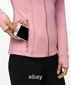 NEW LULULEMON Define Jacket 8 Pink Taupe FREE SHIP