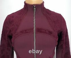 NEW LULULEMON Define Jacket Flocked 4 6 8 10 Dark Adobe FREE SHIP