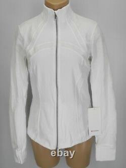 NEW LULULEMON Define Jacket Flocked 4 White FREE SHIP