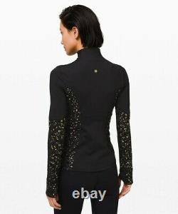 NEW LULULEMON Define Jacket LUNAR NEW YEAR 12 Black Gold FREE SHIP