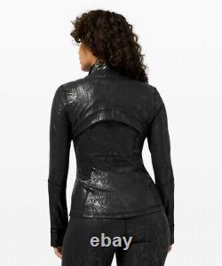 NEW LULULEMON Define Jacket Shine 6 Acclimatize Black Black Foil FREE SHIP