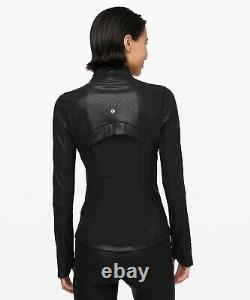 NEW LULULEMON Define Jacket Spark 4 6 8 Luminosity Foil Print Black FREE SHIP