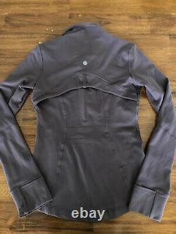 NEW LULULEMON Define Jacket Vintage Grape Purple Size 4 Luon NWOT