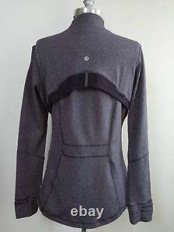 NEW LULULEMON Define Jacket heathered black swan size 12 NWT SOLD OUT RARE STYLE