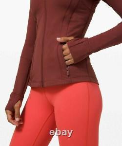 NEW LULULEMON Define Jacket size4,6 Savannah