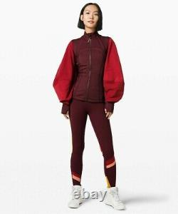 NEW LULULEMON ROKSANDA Face Forward Define Jacket 8 Garnet Caliente FREE SHIP