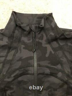 NEW! Lululemon Define Jacket INCOGNITO CAMO MULTI GREY Sz 8 Sold Out Everywhere