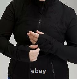 NEW Lululemon Define Luon Black Jacket Size 6 NWT