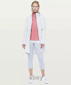 NEW Lululemon Define Luon Zip Jacket in Cherry Tint Pink Size 12