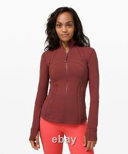 NEW Women Lululemon Define Jacket Luon Savannah Size 12