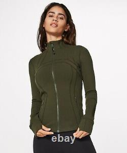 NEW Women Lululemon Define Jacket Luon Size 10 & 12