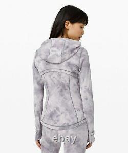 NEW Women Lululemon Hooded Define Jacket Nulu Diamond Dye Size 10