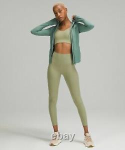 NEW Women Lululemon Hooded Define Jacket Nulu Tidewater Teal Size 12