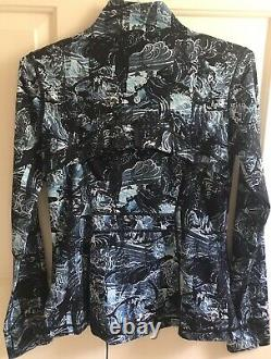 NWOT! LULULEMON sz 10 DEFINE Jacket ETERNAL WAVE STARLIGHT Black NULUX