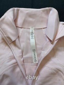 NWOT Lululemon Define Jacket Blissful Pink SIZE 4