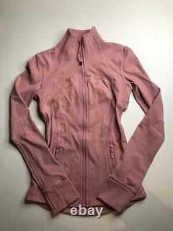 NWOT Lululemon Define Jacket Luxtreme Spanish Rose (W4BB3S) SIZE 2