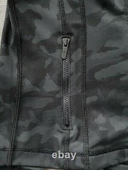 NWT AUTH LULULEMON Define Jacket Incognito Camo Multi Grey, Nulu fabric, Size 4