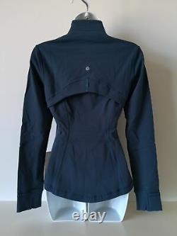 NWT LULULEMON NIDI Teal Blue Soft Lightweight Luon Define Jacket 6