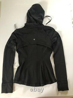 NWT LULULEMON Womens Define Jacket Nulu Size 4 Black