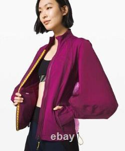 NWT LULULEMON x ROKSANDA Face Forward Define Jacket Size 10, MARV/HNYB/CDYP