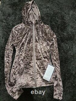 NWT Lululemon Crushed Velvet Define Jacket