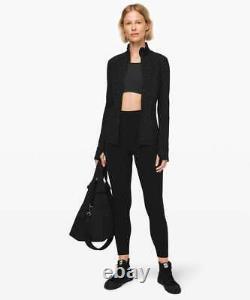 NWT Lululemon DEFINE Formation CAMO Black Coal Jacket Luxtreme Size 6 HTF