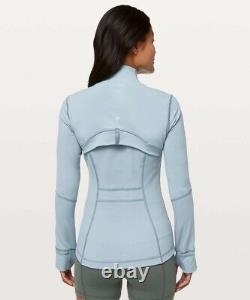 NWT Lululemon Define Jacket Blue Cast Size8