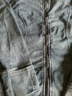 NWT Lululemon Define Jacket Ice Dye Wash Asphalt Gray Nulux Fabric Size 8