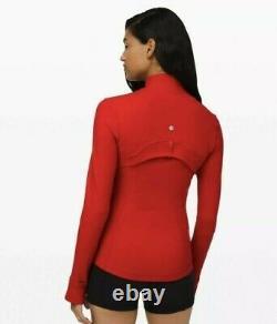 NWT Lululemon Define Jacket Luon Size 4, Dark Red DKRD
