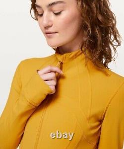 NWT Lululemon Define Jacket Luon Size 8, Honey Lemon HNYL
