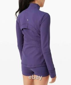 NWT Lululemon Define Jacket Midnight Orchid SIZE10