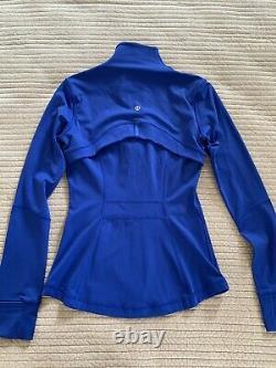 NWT Lululemon Define Jacket NuluxSIZE4ARFO AIR FORCE BLUE