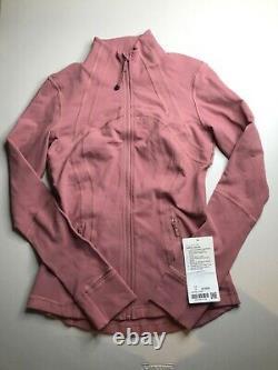 NWT Lululemon Define Jacket Quicksand (W4AWKS) SIZE 6