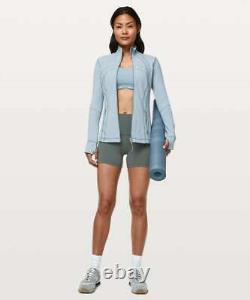 NWT Lululemon Define Jacket SIZE4Blue Cast