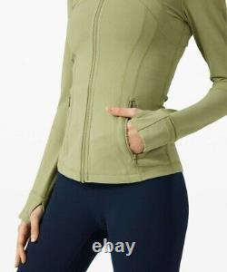 NWT Lululemon Define Jacket SIZE 10Vista Green