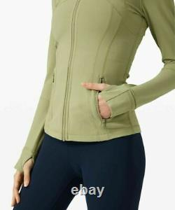 NWT Lululemon Define Jacket SIZE 46Vista Green