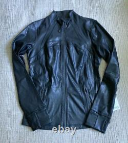 NWT! Lululemon Define Jacket Spark Luminosity Foil Black Metallic Size 10