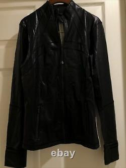 NWT Lululemon Define Jacket Spark Luminosity Foil Print Black Size10