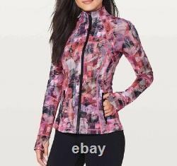 NWT Lululemon Define Jacket Sun Dazed Multi Pink LW4AXNS UNZU Size 4