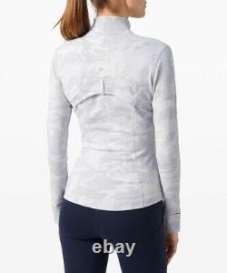 NWT Lululemon Define Jacket Sz 10, Incognito Camo Alpine White Multi ICAP