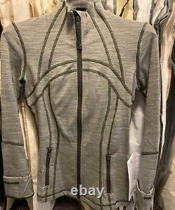NWT Lululemon Define Jacket Wee Are From Space Sage Dark Olive Run Luon Size 4